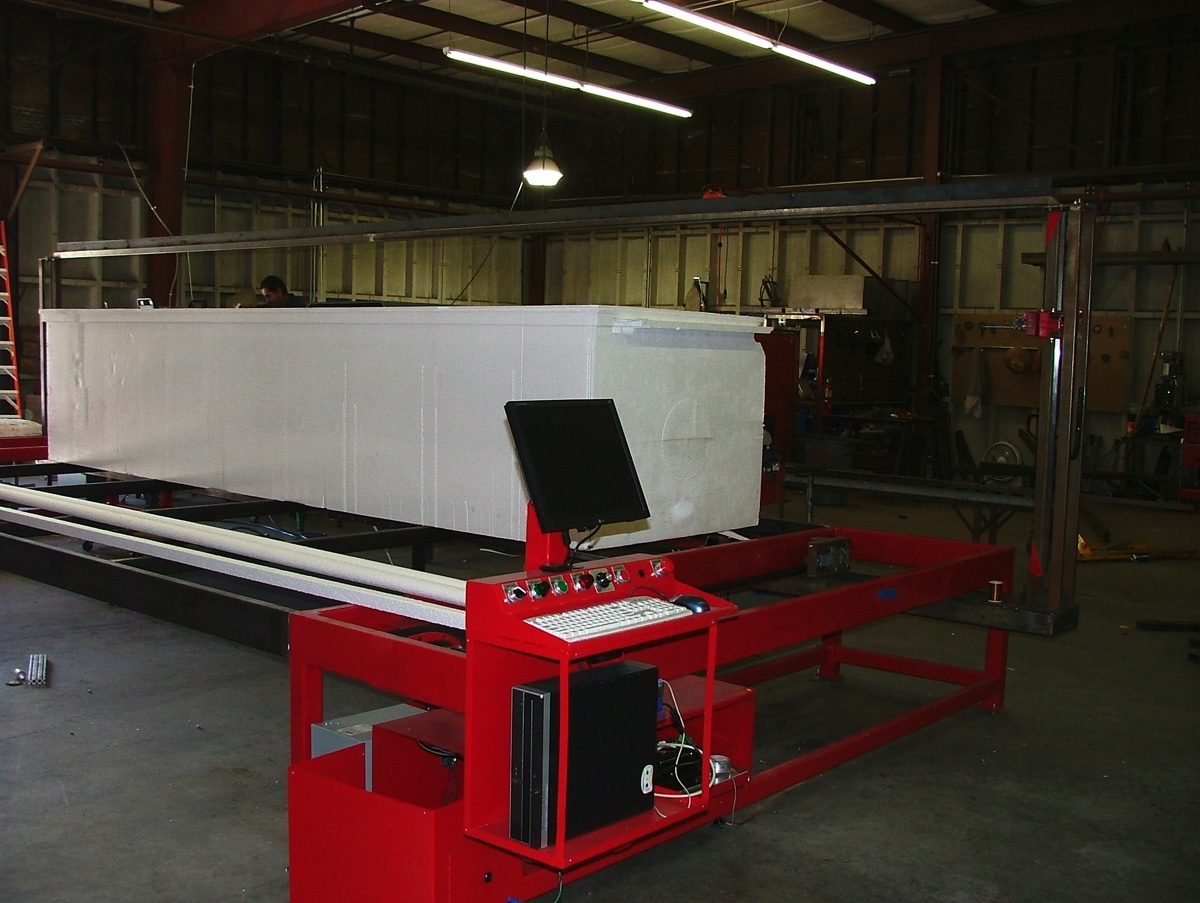 26 foot cnc foam cutter